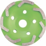 Диамантен диск за шлайфане 125 мм, чашкообразен