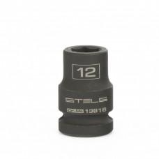 """Ударна вложка 12.0 мм за гайковерт 1/2"""", шестенна"""