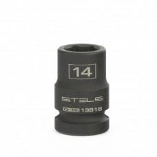 """Ударна вложка 14.0 мм за гайковерт 1/2"""", шестенна"""