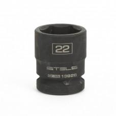 """Ударна вложка 22.0 мм за гайковерт 1/2"""", шестенна"""