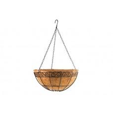 Висяща кашпа / саксия 30 см. с кокосова вложка