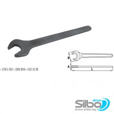 Гаечен ключ 15 мм , едностранен, фосфатиран / DIN 894