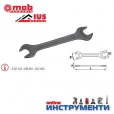 Гаечен ключ 8х9-DIN 895 фосфатиран