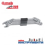 Гаечни ключове комплект 6-17мм DIN3110 хромирани 6 бр. клема