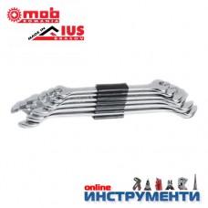 Гаечни ключове комплект 6-22мм DIN3110 хромирани 8 бр. клема
