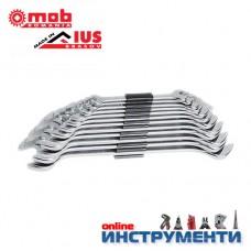 Гаечни ключове комплект 6-32мм DIN3110 хромирани 12 бр. клема