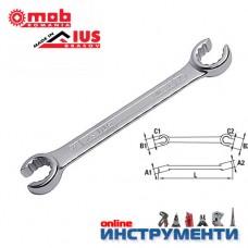 Ключ звезда отворен / прорязан 19х22 мм.