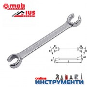 Ключ звезда отворен / прорязан 24х27 мм.