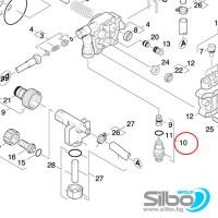 Байпасен клапан за KARCHER K 855, K330, K310