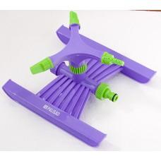 Разпръсквач въртящ се, 3-раменен, с основа, пластмасов