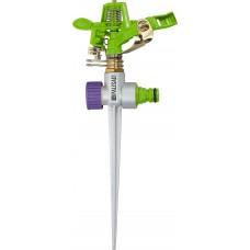 Разпръсквач импулсен, на клин, регулиране на ъгъла и обсега на разпръскване, месингов