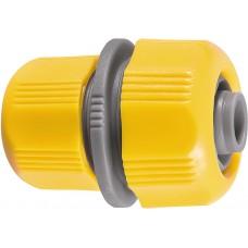 Муфа възстановителната за маркуч с преход 1/2-3/4, пластмасоваE