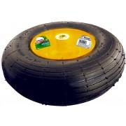 Колело с гума пневматична, 4.00-6, D 325mm, на лагер, вътр. D 16mm, дълж. на оста 100mm