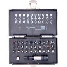 Комплект битове, магнитен адаптер, 32 части, пластмасова кутия