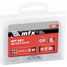 Комплект битове 65 mm, двустранни, SL-SL, PH-PH, PZ-PZ, 10 бр.