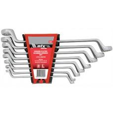 Комплект ключове лули, 6-17 mm, 6 бр., Elliptical, полирани