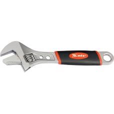 Ключ раздвижен, 150 mm, обръщаща се подвижна челюст, двукомпонентна дръжка