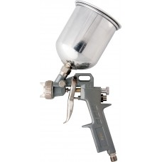 Пистолет за боя пневматичен с горно казанче, V=1,0 L, дюзи с диаметър 1.2, 1.5 и 1.8 mm