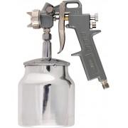 Пистолет за боя пневматичен с долно казанче, V=0,75 L, дюзи с диаметър 1.2, 1.5 и 1.8 mm