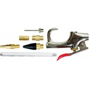Комплект пистолет пневматичен за продухване с 6 бр. приставки