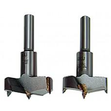 Свредло за дърво, 32 mm, твърдосплавни пластини, цилиндрична опашка