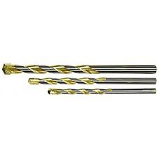 Свредло за бетон Golden Line, 4 х 75 mm, цилиндрична опашка