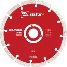 Диамантен диск за сухо рязане, сегментиран, 125 х 22,2 mm PREMIUM