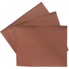 Шкурка на хартиена основа, на листове, P 80, 220 х 270 mm, 10 бр., водоустойчива