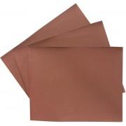 Шкурка на хартиена основа, на листове,  P 120, 220 х 270 mm, 10 бр., водоустойчива