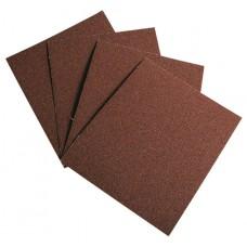 Шкурка на текстилна основа, на листове, P 80, 230 х 280 mm, 10 бр., водоустойчива