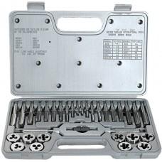 Комплект метчици и плашки, М3-М12, 31 части