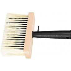 Четка, 140 х 52 mm, изкуствен косъм, дървен корпус, пластмасова дръжка