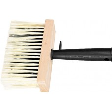 Четка, 150 х 70 mm, изкуствен косъм, дървен корпус, пластмасова дръжка