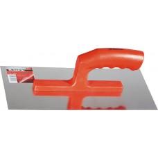 Маламашка, стоманена, 280 х 130 mm, огледално полирана, пластмасова дръжка