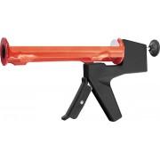 """Пистолет за силикон, 310 ml, """"полуотворен"""" тип, балансиран, кръгъл бутален прът 6 mm"""