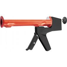 Пистолет за силикон, 310 ml, полуотворен тип, балансиран, кръгъл бутален прът 6 mm