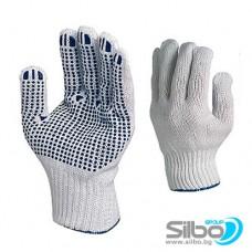 Работни ръкавици,плетени, безшевни EN420