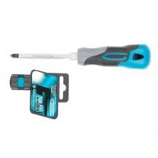 Отвертка PZ2 х 100 mm, трикомпонентна дръжка