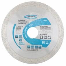 Диамантен диск за мокро рязане, непрекъснат ръб, 230 х 22,2 mm GROSS GROSS Germany